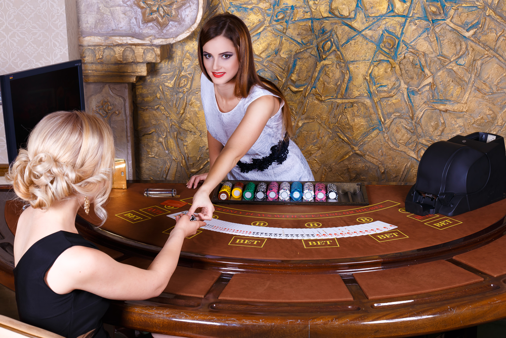 Casino employee uniforms