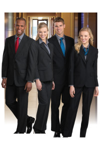 Uniforms for front of house restaurant staff.