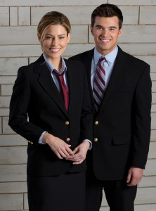 hotel uniforms suits and blazers