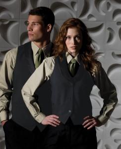 hotel front desk vests - hotel uniform supplier