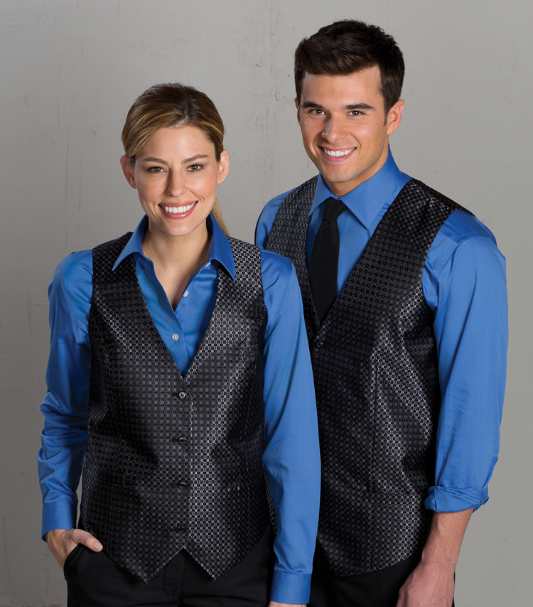 waiter, waitress, server uniform vests