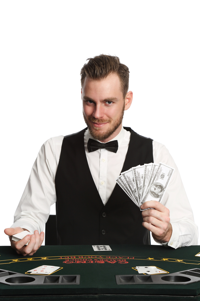 Smart uniforms for casino staff.