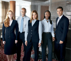 We have great ideas for hotel uniforms.