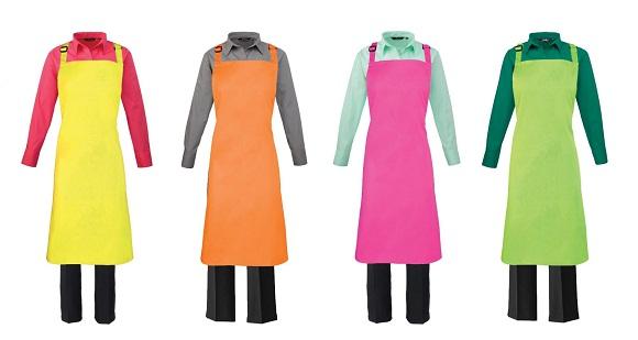 colorful-restaurant-aprons-uniform-ideas